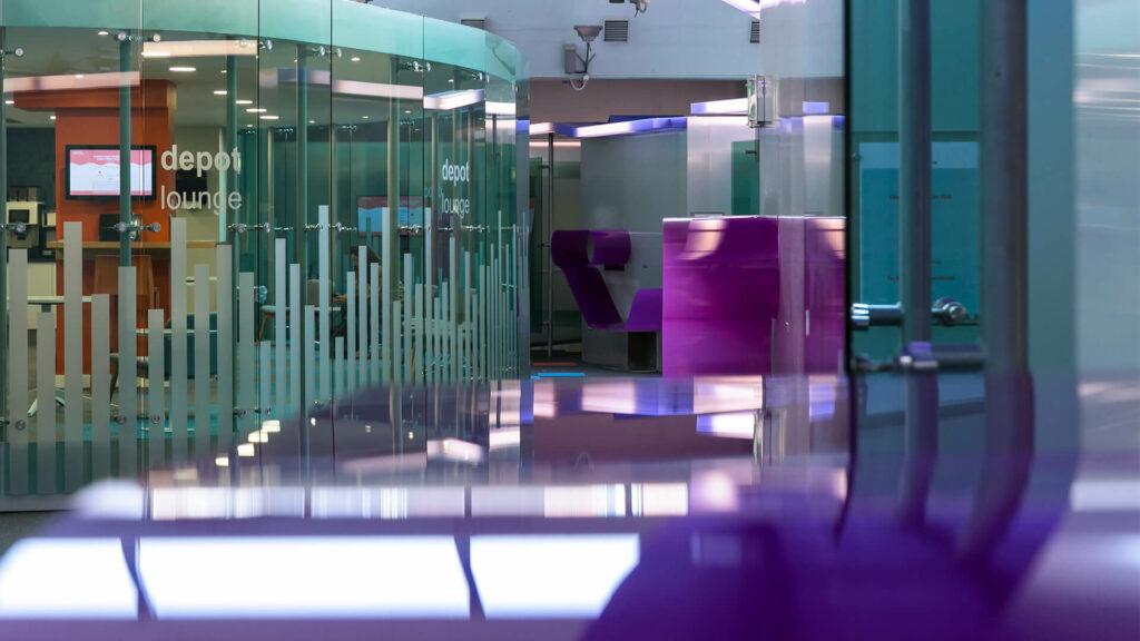 Digital Depot Interior